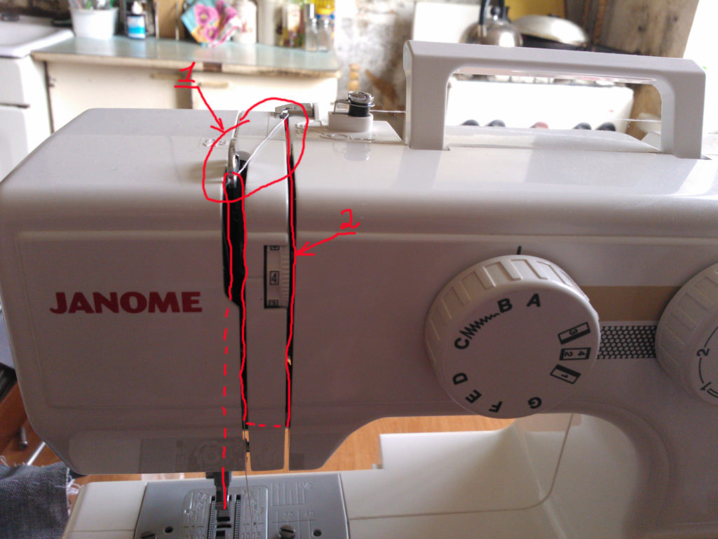 Ремонт швейной машины Janome